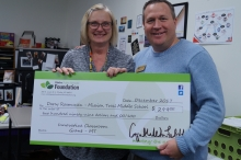 More than $32,000 in Foundation grants were distributed to classrooms all over Olathe just before winter break.
