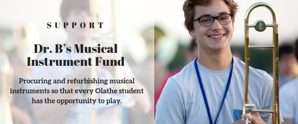 Dr. B's Musical Instrument Fund